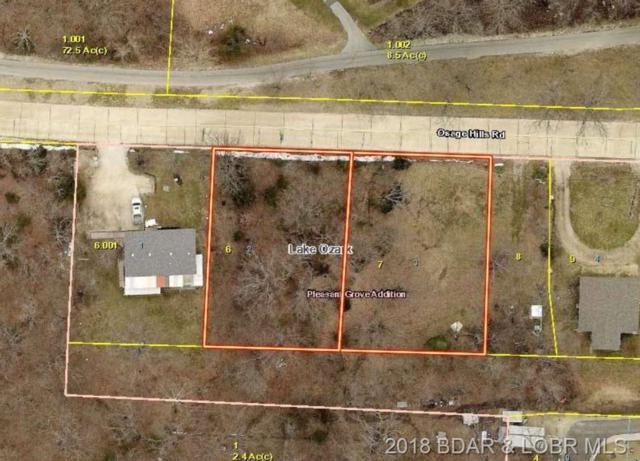 Lots 2 & 3 Osage Hills Road, Lake Ozark, MO 65049 (MLS #3505198) :: Coldwell Banker Lake Country