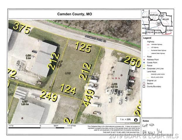 Lot 42 Business Park Road, Linn Creek, MO 65052 (MLS #3519707) :: Coldwell Banker Lake Country