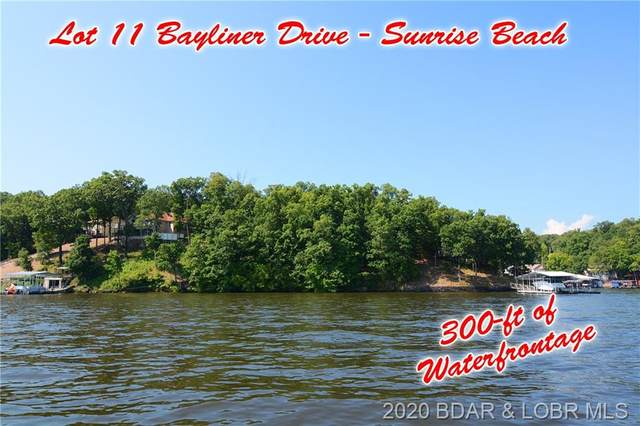 Lot 11 Bayliner Drive, Sunrise Beach, MO 65079 (MLS #3524060) :: Coldwell Banker Lake Country