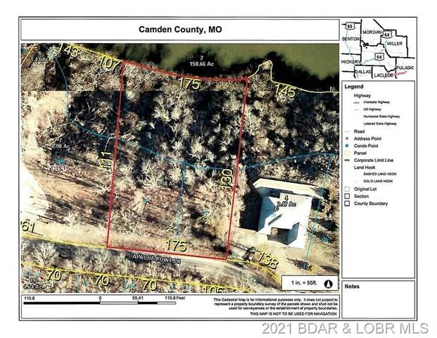 Lot 26 & 27 Apache Point Drive, Climax Springs, MO 65324 (MLS #3532022) :: Century 21 Prestige