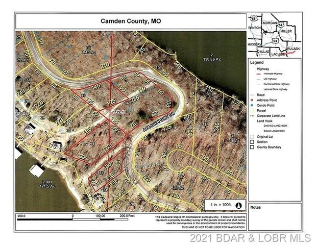 Lots 60,61,62,65 & 1 Apache Point Drive, Climax Springs, MO 65324 (MLS #3532083) :: Century 21 Prestige