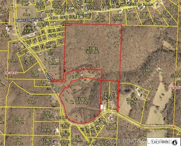 State Road V, Linn Creek, MO 65052 (MLS #3532585) :: Coldwell Banker Lake Country