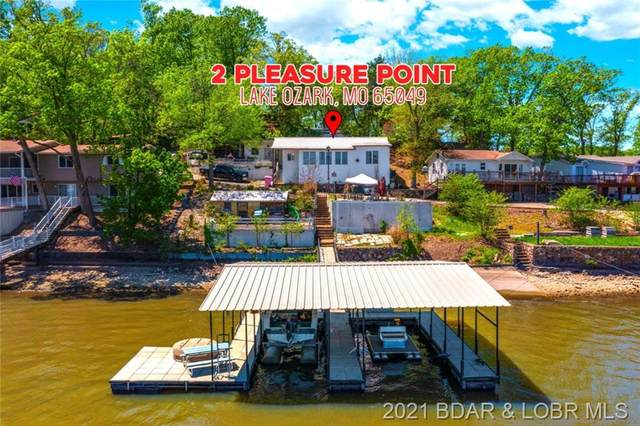 2 Pleasure Point Circle, Lake Ozark, MO 65049 (MLS #3535479) :: Coldwell Banker Lake Country