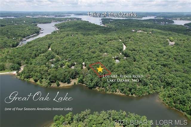 Lot 682 Ridge Road, Lake Ozark, MO 65049 (MLS #3535923) :: Coldwell Banker Lake Country