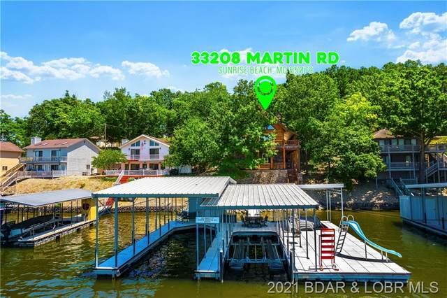 33208 Martin Road, Sunrise Beach, MO 65079 (MLS #3536382) :: Coldwell Banker Lake Country