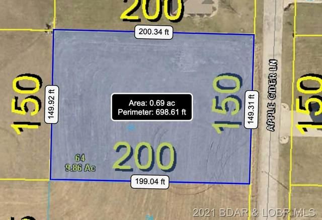 Lot 48 Tonka Villa Estates, Camdenton, MO 65020 (MLS #3537872) :: Columbia Real Estate