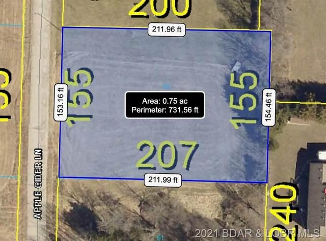 Lot 55 Tonka Villa Estates, Camdenton, MO 65020 (MLS #3537874) :: Columbia Real Estate
