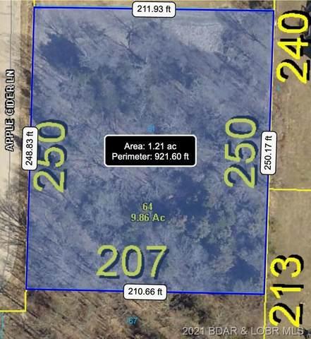 Lot 61 Tonka Villa Estates, Camdenton, MO 65020 (MLS #3537879) :: Columbia Real Estate