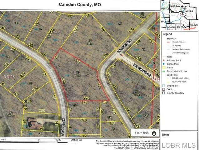 Lot 1504 Via Appia Drive, Porto Cima, MO 65079 (MLS #3538698) :: Columbia Real Estate