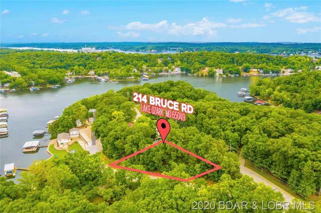 214 Bruce Road, Lake Ozark, MO 65049 (MLS #3530075) :: Coldwell Banker Lake Country