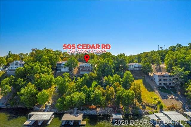 505 Cedar Road, Lake Ozark, MO 65049 (MLS #3529012) :: Coldwell Banker Lake Country