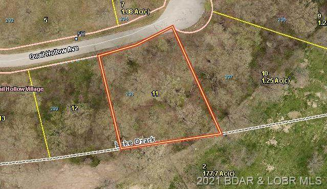 Lot 298 Quail Hollow Avenue, Lake Ozark, MO 65049 (#3531936) :: Matt Smith Real Estate Group