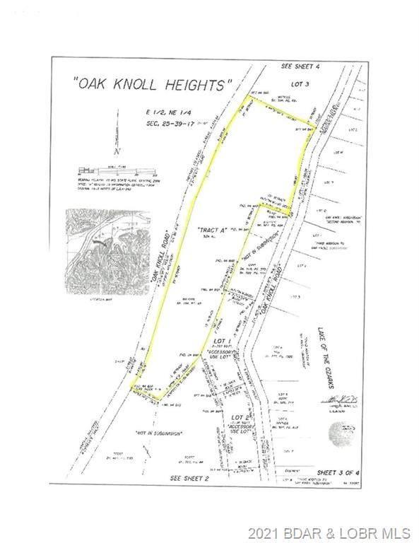 Tract A Oak Knoll Road, Linn Creek, MO 65052 (MLS #3539331) :: Columbia Real Estate