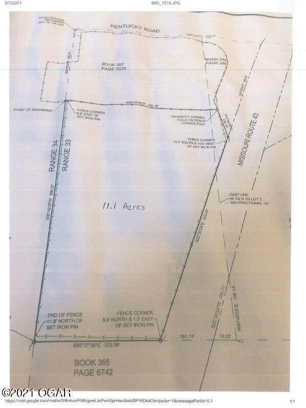 TBD Highway 43, Seneca, MO 64865 (MLS #212050) :: Davidson Group