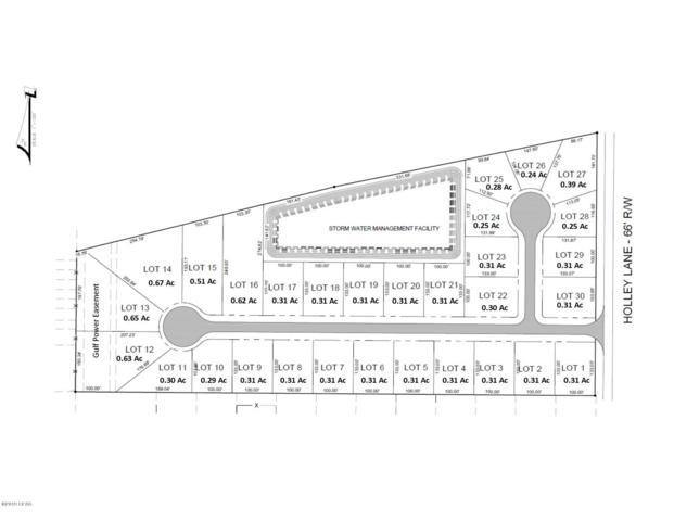 7519 Holley Wood Road Lot 4, Panama City Beach, FL 32408 (MLS #680800) :: Keller Williams Realty Emerald Coast