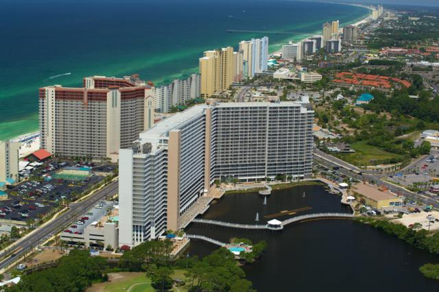9860 S Thomas Drive #824, Panama City Beach, FL 32408 (MLS #681230) :: CENTURY 21 Coast Properties
