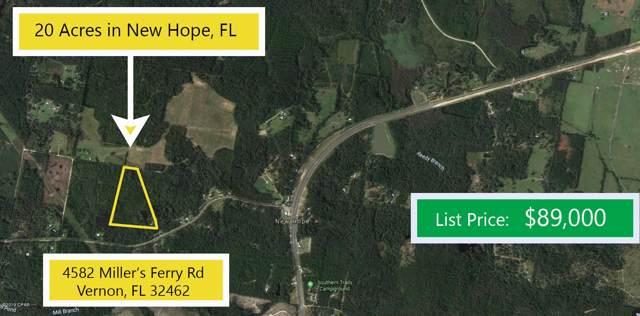 4582 Millers Ferry Road, Vernon, FL 32462 (MLS #691457) :: Keller Williams Emerald Coast