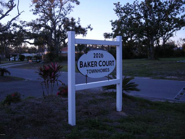 2026 Baker Court #24, Panama City, FL 32401 (MLS #694232) :: Counts Real Estate Group, Inc.