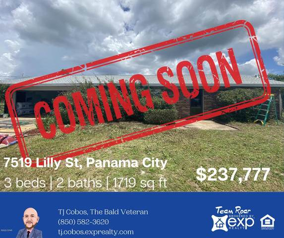 7519 Lilly Street, Panama City, FL 32404 (MLS #700064) :: Scenic Sotheby's International Realty