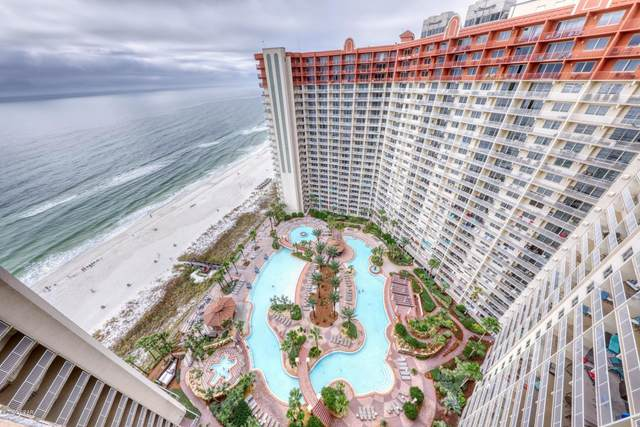 9900 S Thomas Drive #2124, Panama City Beach, FL 32408 (MLS #702869) :: Berkshire Hathaway HomeServices Beach Properties of Florida