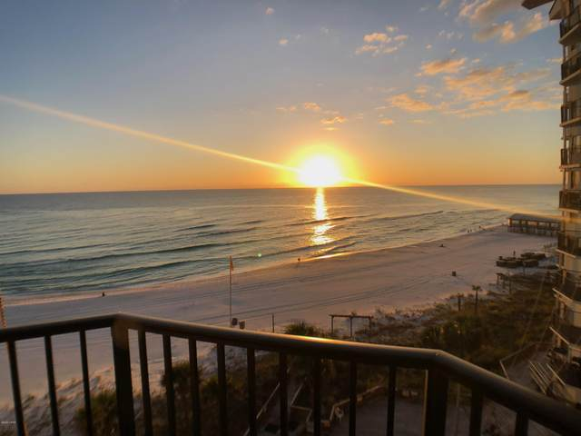 9850 S Thomas Drive 711E, Panama City Beach, FL 32408 (MLS #705096) :: Counts Real Estate Group