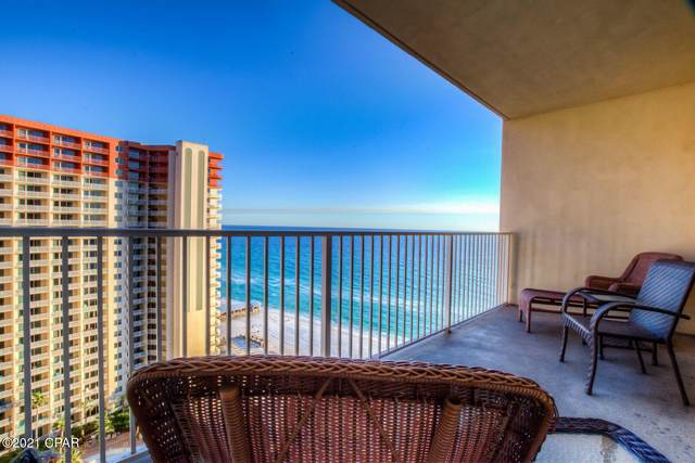 9900 S Thomas Drive #1705, Panama City Beach, FL 32408 (MLS #706804) :: Team Jadofsky of Keller Williams Realty Emerald Coast