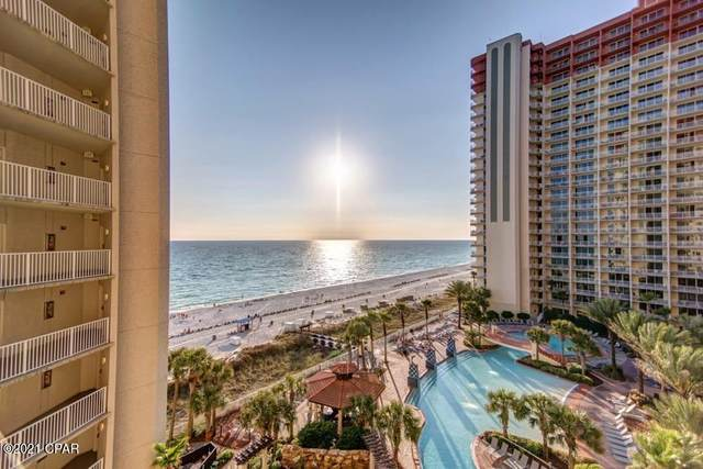 9900 S Thomas Drive #826, Panama City Beach, FL 32408 (MLS #707488) :: Team Jadofsky of Keller Williams Realty Emerald Coast