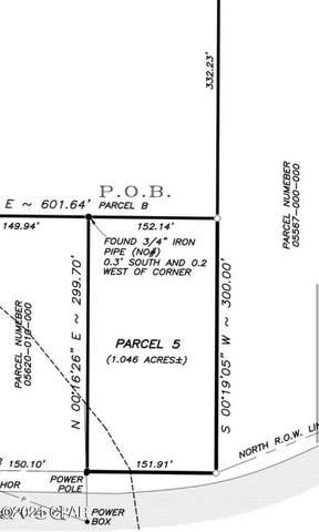7041 Coe Road, Panama City, FL 32404 (MLS #708602) :: Scenic Sotheby's International Realty