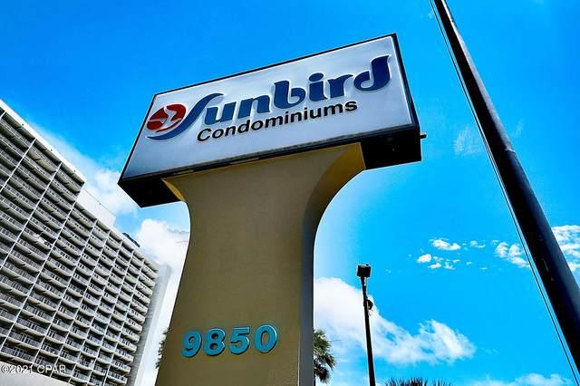 9850 S Thomas Drive 801E, Panama City Beach, FL 32408 (MLS #708990) :: Counts Real Estate Group