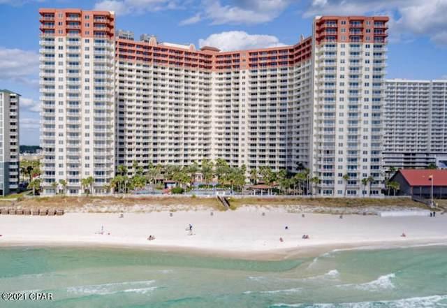 9900 S Thomas Dr #1008, Panama City Beach, FL 32408 (MLS #713154) :: Berkshire Hathaway HomeServices Beach Properties of Florida