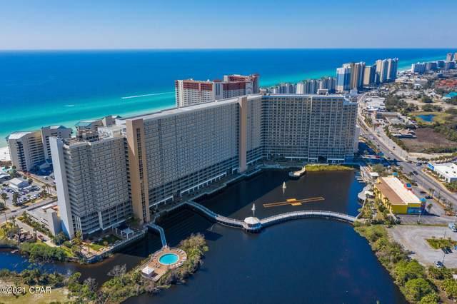 9860 S Thomas Drive #704, Panama City Beach, FL 32408 (MLS #717063) :: The Ryan Group