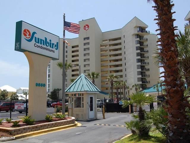 9850 S Thomas Drive 406E, Panama City Beach, FL 32408 (MLS #695578) :: Team Jadofsky of Keller Williams Success Realty
