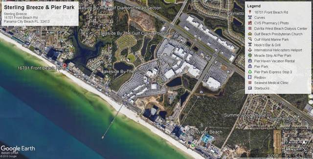 16701 Front Beach Road #406, Panama City Beach, FL 32413 (MLS #702068) :: Counts Real Estate Group