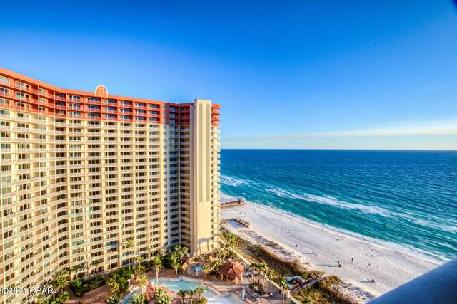 9900 S Thomas Drive #1709, Panama City Beach, FL 32408 (MLS #706803) :: Team Jadofsky of Keller Williams Realty Emerald Coast