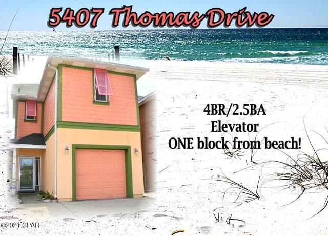 5407 Thomas Drive, Panama City Beach, FL 32408 (MLS #709399) :: Scenic Sotheby's International Realty