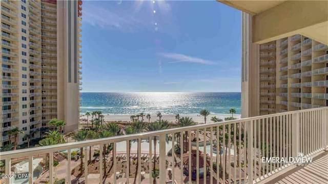 9900 S Thomas Drive #714, Panama City Beach, FL 32408 (MLS #712500) :: Counts Real Estate Group