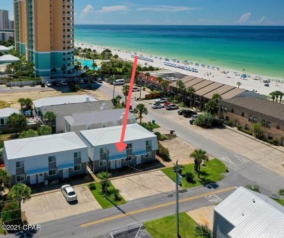 7904 Surf Drive #15, Panama City Beach, FL 32408 (MLS #715560) :: Berkshire Hathaway HomeServices Beach Properties of Florida