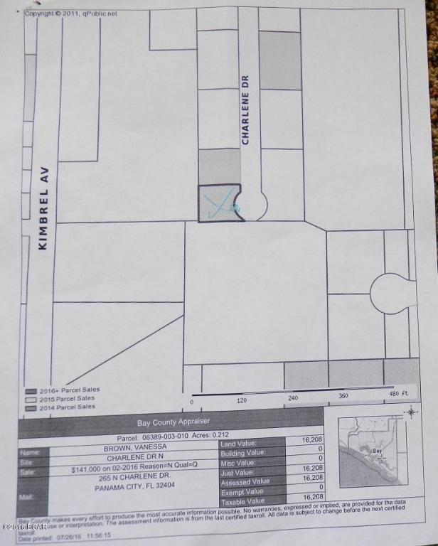 000 N Charlene Drive, Panama City, FL 32404 (MLS #648962) :: Coast Properties