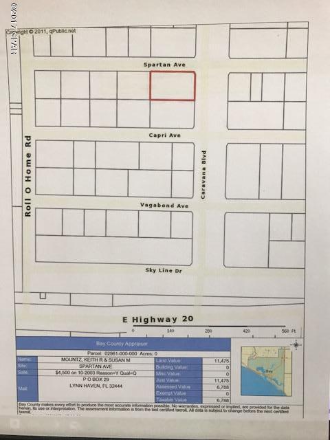 00000 Spartan Avenue, Fountain, FL 32438 (MLS #664013) :: Coast Properties
