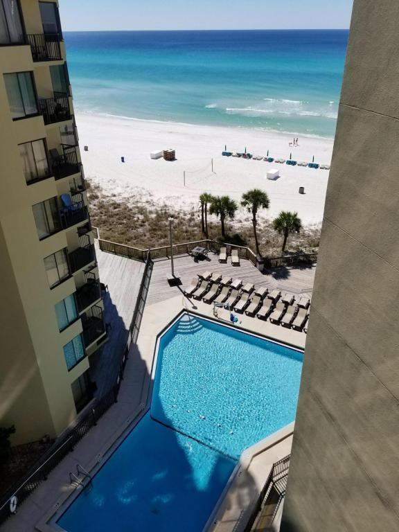 9850 S Thomas Drive 801W, Panama City Beach, FL 32408 (MLS #669685) :: ResortQuest Real Estate