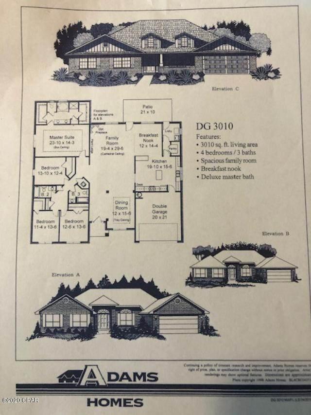 121 Lake Merial Trail, Southport, FL 32409 (MLS #694200) :: Team Jadofsky of Keller Williams Success Realty