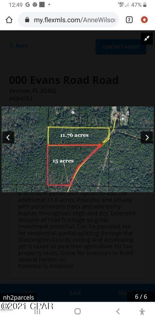 000a Evans, Vernon, FL 32462 (MLS #706414) :: Counts Real Estate Group, Inc.