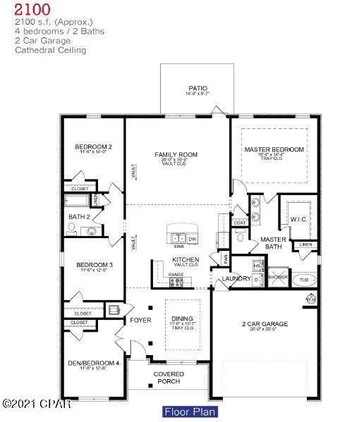 3865 Redbud Way, Panama City, FL 32404 (MLS #710924) :: Scenic Sotheby's International Realty