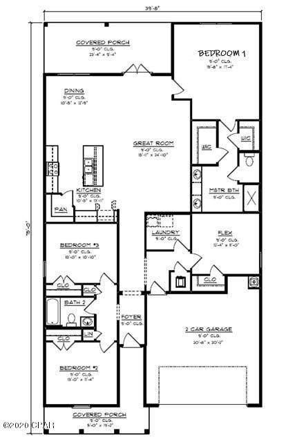 529 Cove Villa Street Lot 21, Panama City Beach, FL 32408 (MLS #714913) :: Anchor Realty Florida