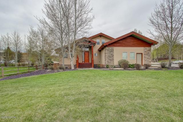 5876 Trailside Loop, Park City, UT 84098 (MLS #11906123) :: High Country Properties