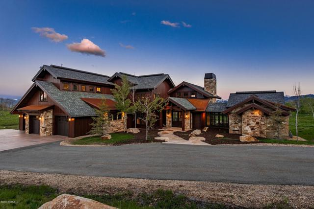 9664 N Red Hawk Trail, Park City, UT 84098 (MLS #11906404) :: High Country Properties