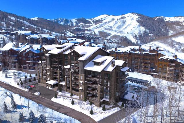 7697 Village Way #201, Park City, UT 84060 (MLS #11906916) :: High Country Properties