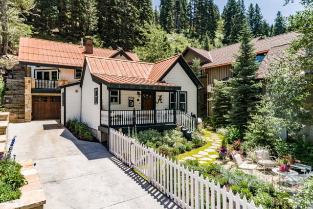 279 Daly Avenue, Park City, UT 84060 (MLS #11907119) :: High Country Properties