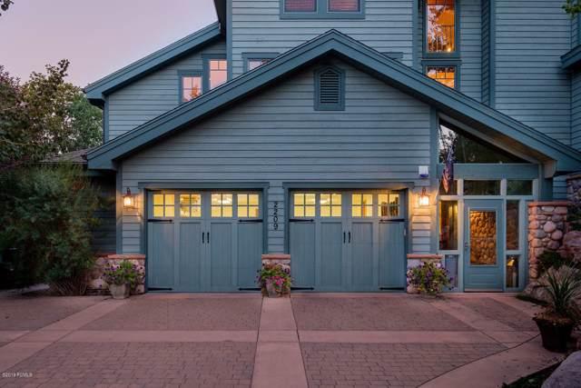 2209 Morning Star Drive, Park City, UT 84068 (MLS #11907383) :: High Country Properties