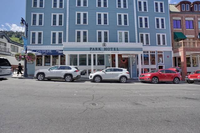 605 Main Street #406, Park City, UT 84060 (#11907413) :: Red Sign Team